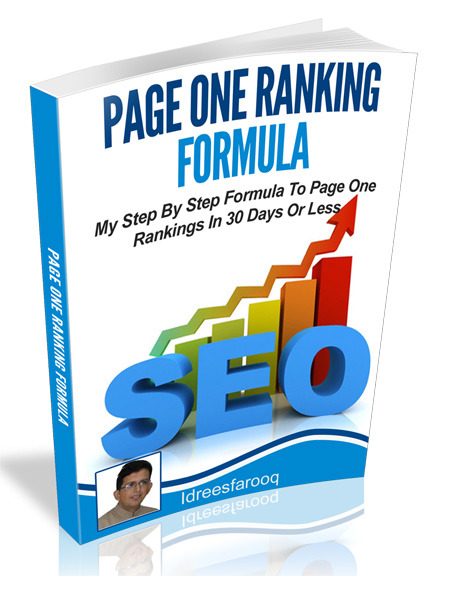 Page One Ranking Formula