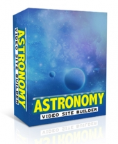 Astronomy Video Site Builder Private Label Rights