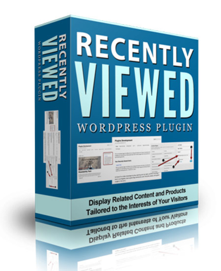Recently Viewed WP Plugin