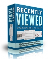 Recently Viewed WP Plugin Private Label Rights
