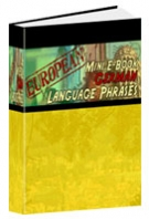 European Mini E-Book German Language Phrases Private Label Rights