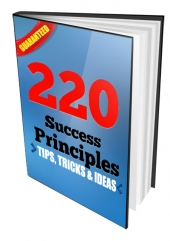 220 Success Principles Private Label Rights