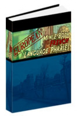 European Mini E-Book French Language Phrases