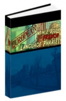 European Mini E-Book French Language Phrases Private Label Rights