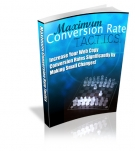 Maximum Conversion Rate Tactics Private Label Rights