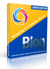 Blogging For Experts eClass Private Label Rights