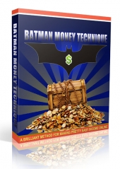 Batman Money Technique Private Label Rights