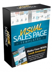 Visual Sales Page Templates Private Label Rights