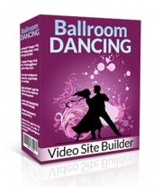 Ballroom Dancing Video Site Builder Private Label Rights