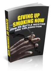Giving Up Smoking Now Private Label Rights