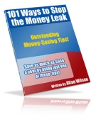 101 Ways To Stop The Money Leak Private Label Rights