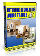 Interior Decorating Audio Tracks Private Label Rights