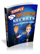 Simple Joint Venture Secrets Private Label Rights