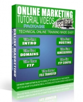 Online Marketing Training Videos Package Private Label Rights