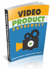 Video Product Supremacy Private Label Rights