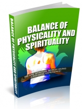 Balance Of Physicality And Spirituality Private Label Rights