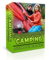 Camping Video Site Builder Private Label Rights