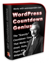WP Countdown Genius Plugin Private Label Rights