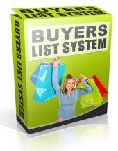 Buyer List System Private Label Rights