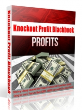 Knockout Profit Blackbook Private Label Rights