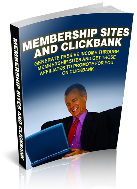 Membership Sites and Clickbank