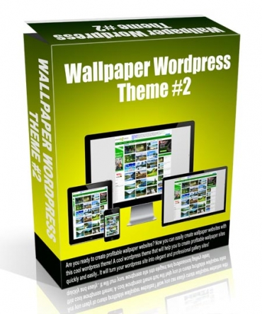Wallpaper Wordpress Theme #2