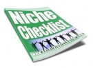 Niche Checklist Private Label Rights