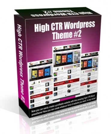 High CTR Wordpress Theme #2
