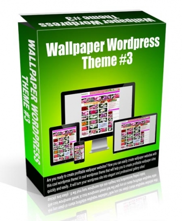 Wallpaper Wordpress Theme #3