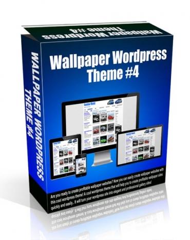 Wallpaper Wordpress Theme #4