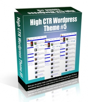 High CTR Wordpress Theme #5