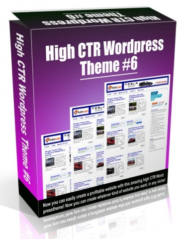 High CTR Wordpress Theme #6