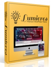 Lumieres Wordpress Theme Private Label Rights