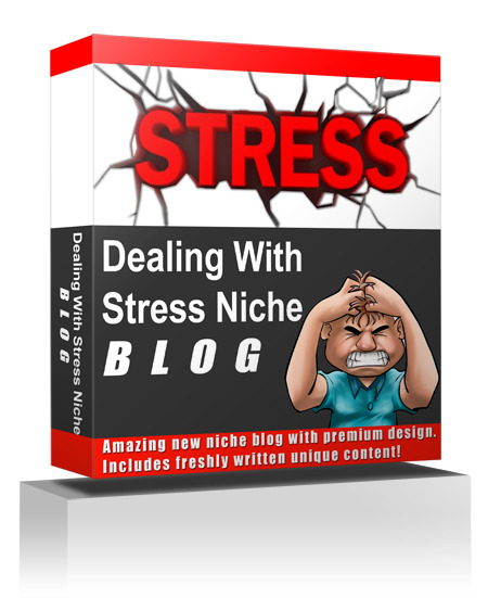 Dealing With Stress Niche Blog