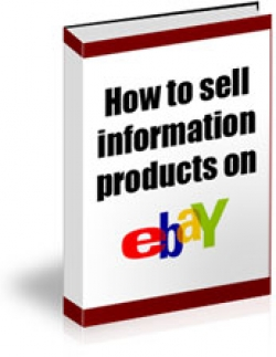 How To Sell Information Products On eBay