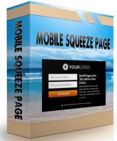 Mobile Squeeze Page Package 2015 Private Label Rights