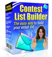 Contest List Builder Software 2015 Private Label Rights