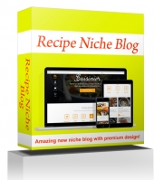 Recipe Niche Blog Private Label Rights