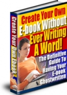 Create Your Own E-Book Without Ever Writing A Word Private Label Rights
