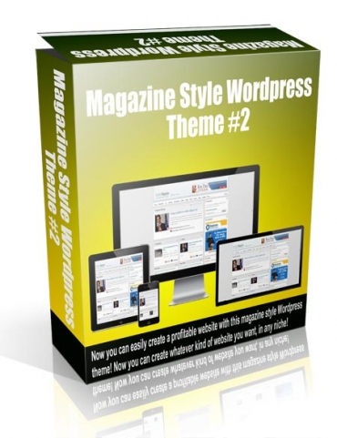 Magazine Style Wordpress Theme #2