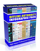 Offline Authority Infographic Pack Private Label Rights