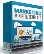 Marketing Minisite Template V2015 Private Label Rights