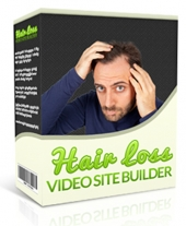 Hair Loss Video Site Builder Private Label Rights