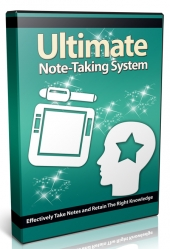 Ultimate Note Taking System Private Label Rights