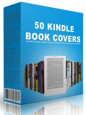 50 Kindle Book Covers Private Label Rights