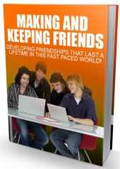 Making And Keeping Friends Private Label Rights