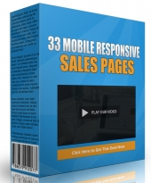 33 Mobile Responsive Sales Pages Private Label Rights