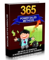 365 Power Sales Methods Private Label Rights