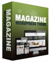 New Magazine WordPress Theme Private Label Rights