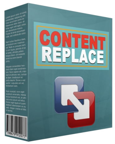 Content Replace WP Plugin
